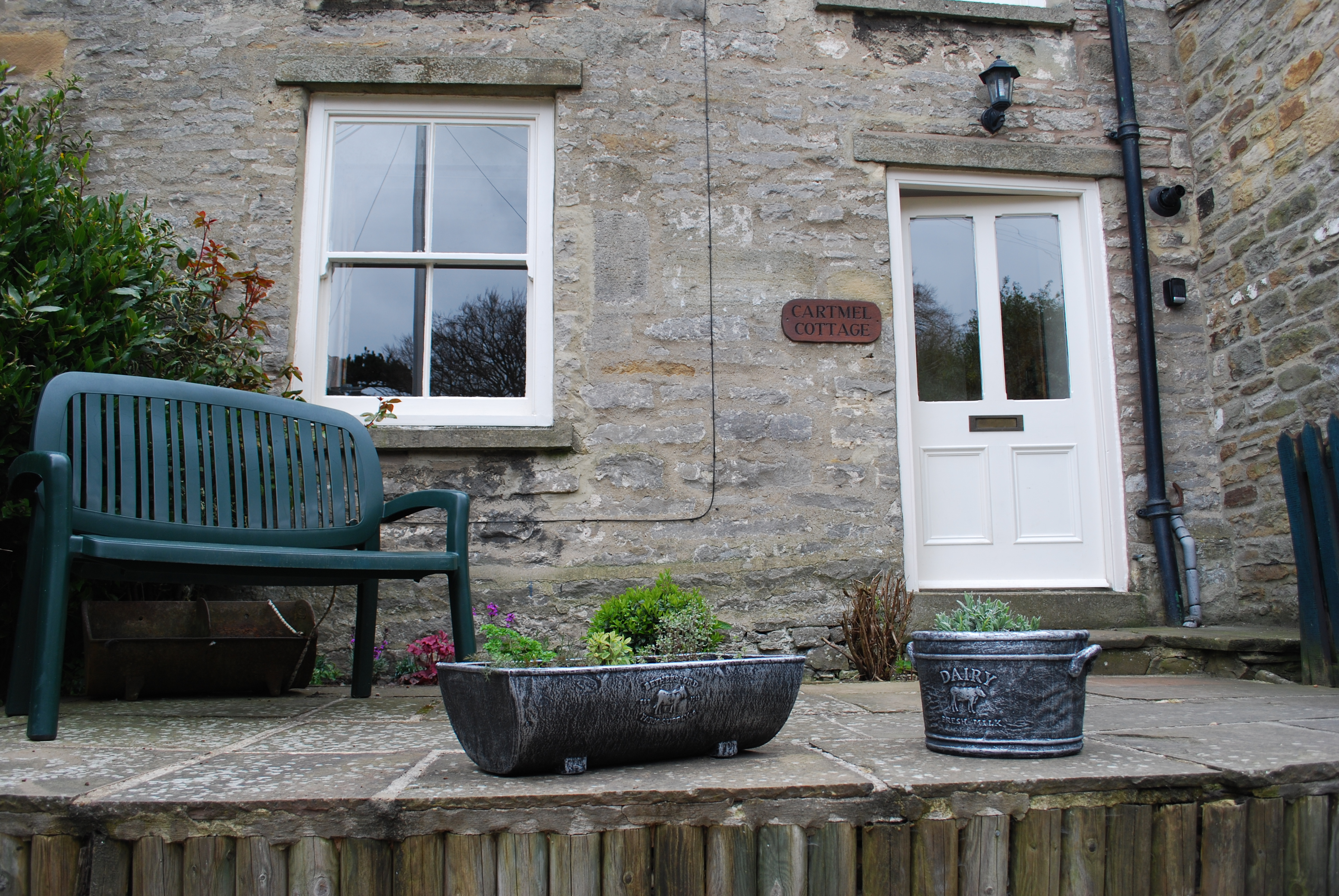 Cartmel Cottage Garden Terrace