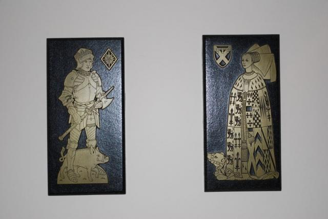 Richard III & Anne Neville Plaques